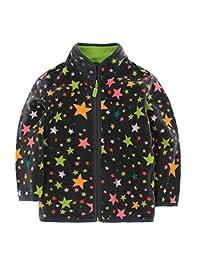 Mofgr Spring Autumn Winter Kids Fur Coats Warm Boys Jackets Thick Fleece Outerwear