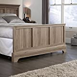 Sauder 419372 Footboard, Bed Room, Queen, Salt Oak