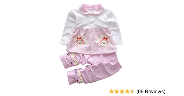 09cc3a4f6e8b Amazon.com  Trendy Baby Girl Clothes Sets Infant Outfits Toddler ...