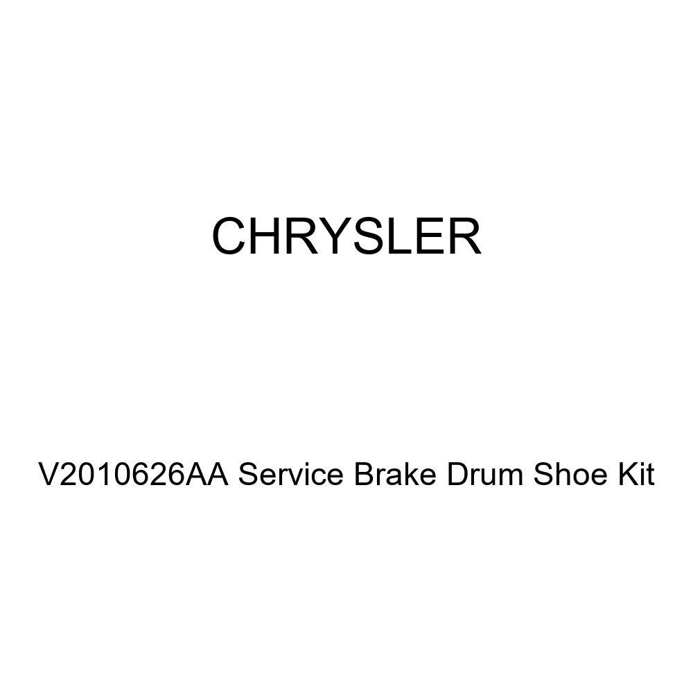 Genuine Chrysler V2010626AA Service Brake Drum Shoe Kit