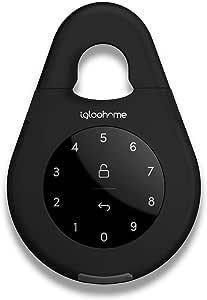 igloohome IGB02 Smart Lockbox, Black