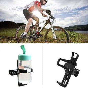 Alisaouse Portabidón ligero para bicicleta, botella de agua, jaulas para cochecito de bebidas, portavasos para bicicletas, bicicletas de montaña: Amazon.es: ...