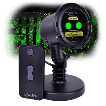 Green MOTION Laser Light Projector By BlissLights | Commercial Grade Indoor  Or Outdoor Laser Star Spotlight
