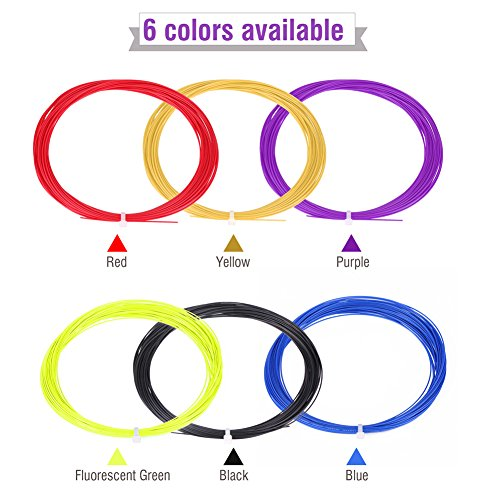 Badminton String Durable Nylon Badminton Racket String High Flexibility Badminton Racquet String Line 10m 6pcs