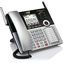 VTech CM18445 Main Console - DECT 6.0 4-Line Expandable Small Business Office Phone with Answering System