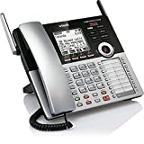 office console - VTech CM18445 Main Console - DECT 6.0 4-Line Expandable Small Business Office Phone with Answering System