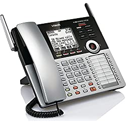 d4213329c62 1 of VTech CM18445 Main Console - DECT 6.0 4-Line Expandable Small Business  Office Phone with Answering System