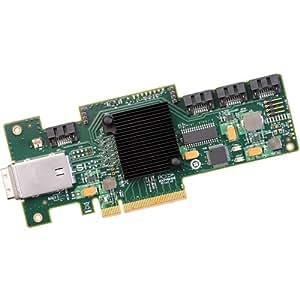 LSI LSI00192 - Controlador RAID (8 x PCIe 2.0, 4 x SATA), verde