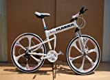 "26""x18"" Aluminium Hummer Folding Mountain Bicycle"
