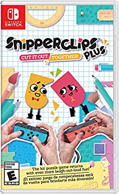 Nintendo Snipperclips Plus: Cut it Out, Together Switch from Nintendo