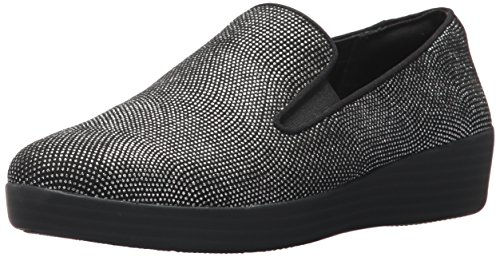 Superskate Fitflop Black Women's Glimmer Loafer F5w7Zqx1