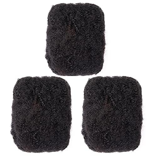 Afro kinky bulk human hair wholesale _image3