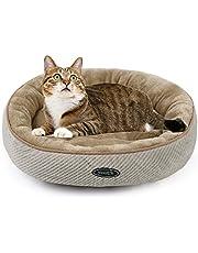 Pecute Panier Chien Chat Pets Animaux Coussin Chaud Ovale Ultra-Doux Lavable en Machine Taille L Convient aux animaux domestiques pesant moins de 10 livres