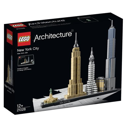 647 opinioni per LEGO Architecture 21028- New York City