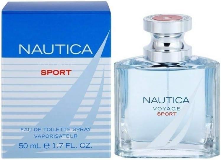 Náutica Voyage Sport Eau de Toilette para Hombre - 50 ml.