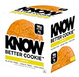 #8: KNOW Foods Gluten Free, Low Carb, Protein Cookies, Lemon, 4g Net Carbs - 4 Count