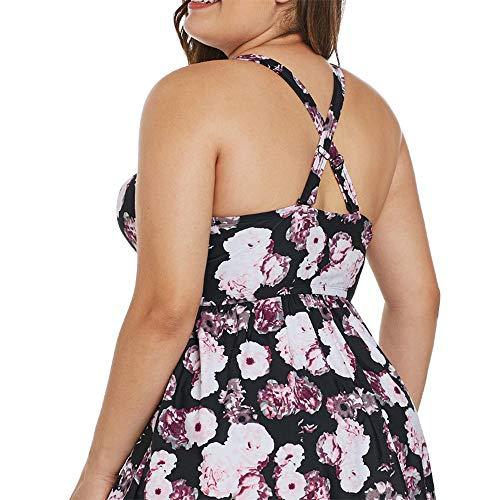 Bikini De Chaud Imprimé Femme Couvert Maillot Femmes Split Xl Ventre Amadoierly Bulle M Printemps Maillots Bain Conservateur z5wYBX