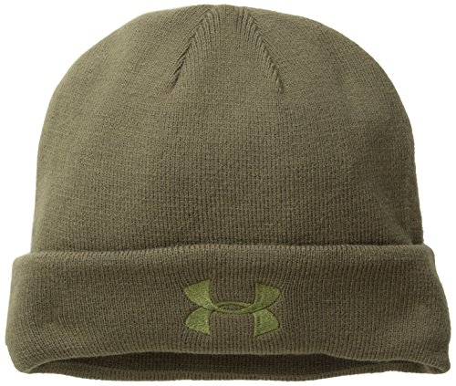 Under Armour Men's Tactical Stealth Beanie, Marine Od Green (390)/Marine Od Green, One Size