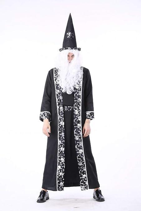 Simmia Halloween Traje Muerte Dios Corte árabe Traje Vampiro ...