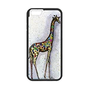 Fashion Giraffe Personalized iPhone 6 Case Cover by runtopwell