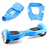 Kglobal Silicone Cove for 6.5'' 2 Wheels Balance Scooter - Balance Hover Board Protector Case Cover(Lightblue)
