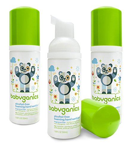 Buy Babyganics Alcohol Free Foaming Hand Sanitizer Fragrance Free