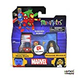 Minimates Marvel Toys R Us Wave 26 (Walgreens Exclusive) Holographic Iron Man & Madame Masque 2-Pack