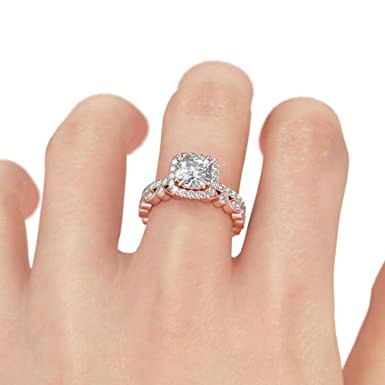 Amazon Com Gyoume Opal Ring Women Creative Ring Set Hand Jewelry