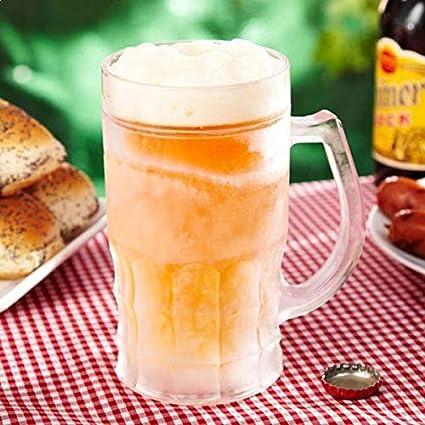 Jarra de cerveza refrigerado doble pared Oro