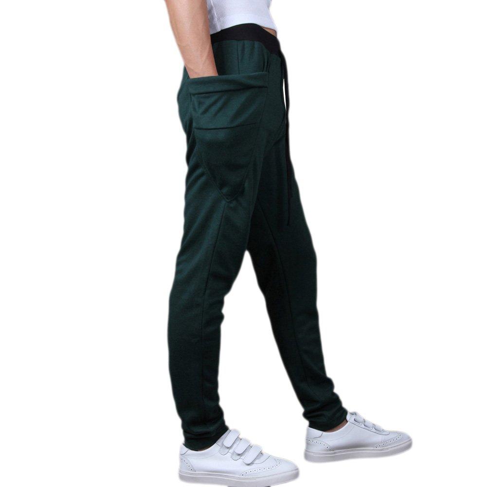 ABS-GMX Mens Sport Cotton Pants Harem Pants Korean Style Trousers Sweatpants