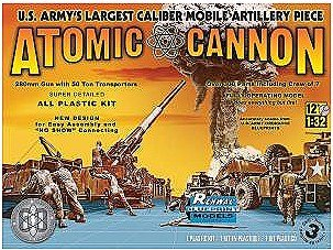 Atomic Cannon 60th Anniversary 1/32 Renwal Revell (Atomic Cannon)