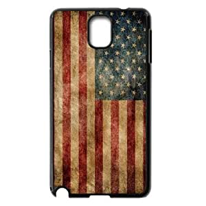 Retro American Flag ZLB525937 Custom Case for Samsung Galaxy Note 3 N9000, Samsung Galaxy Note 3 N9000 Case