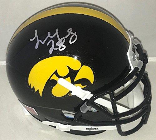 - Toren Young signed Iowa Hawkeyes mini helmet autographed Proof - Autographed College Mini Helmets