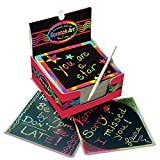 Melissa & Doug Scratch Art Box of Rainbow Mini Notes: more info
