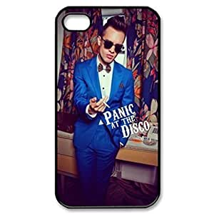 Panic at the Disco Image Protective Iphone 5s / Iphone 5 Case Cover Hard Plastic Case for Iphone 5 5s