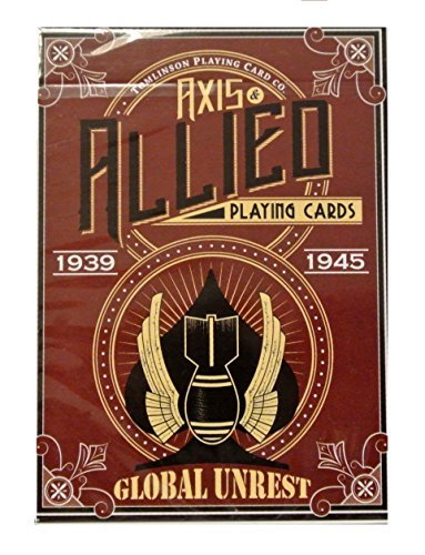 Global Unrest printed by USPCC WWII Playing Cards Axis Tuck Box ()