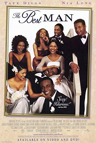 Taye Diggs Poster (The Best Man Poster Movie 11x17 Taye Diggs Monica Calhoun Morris Chestnut Nia Long)