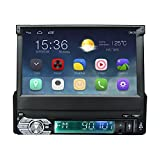 Ezonetronics Android 5.1 Quad Core Car Radio Stereo 7 inch Capacitive Touch Screen High Definition 1024x600 GPS Navigation Bluetooth USB SD Player 1G DDR3 + 16G NAND Memory Flash 008