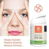Eye Gel for Dark Circles, Puffiness, Wrinkles and