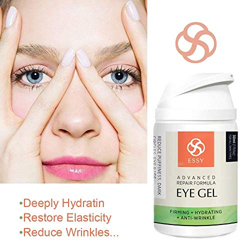 51 I1ccL2mL - Eye Gel for Dark Circles, Puffiness, Wrinkles and Bags,Fine Lines. - The Most Effective Anti-Aging Eye Gel Under and around Eyes- 1 fl OZ