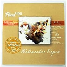 Handbook Paper Fluid 100 Watercolor Cp 300Lb Ez-Block 8X8
