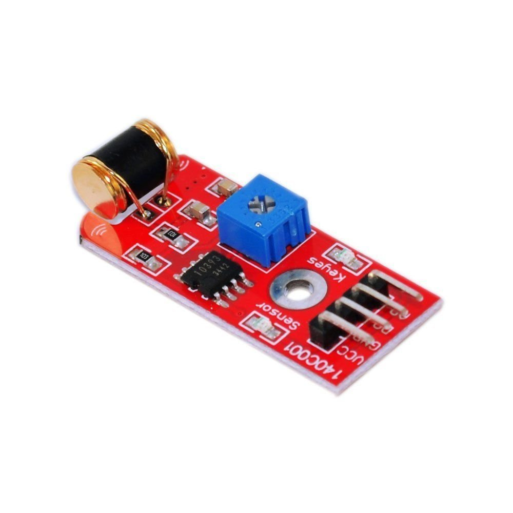 Exiron 5pcs 801S Vibration Sensor Module vibration Analog Output Sensitivity LM393