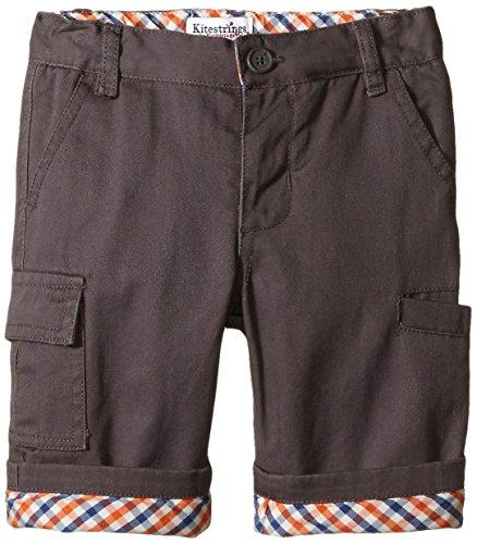 Hartstrings Baby-Boys Newborn Twill Cargo Pant, Castle Rock, 0-3 Months