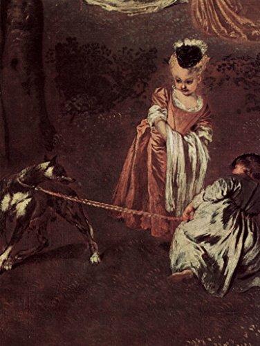 Lais Puzzle Antoine Antoine Antoine Watteau - Plaisir en Plein air (AmuseHommes ts champêtres), détail 1000 Pieces B07DLB3FRB 905a83