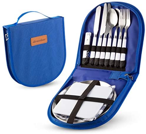 Camping Silverware Cutlery Organizer Utensil product image