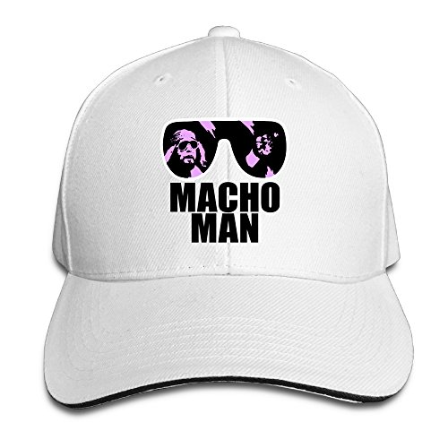 TOEYSO Starter Sandwich Bill Cap Macho Man Randy Savage Macho America Snapback Caps -