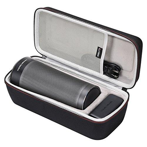 LTGEM EVA Hard Case for Harman Kardon Invoke Voice-Activated Speaker - Travel Protective Carrying Storage Bag
