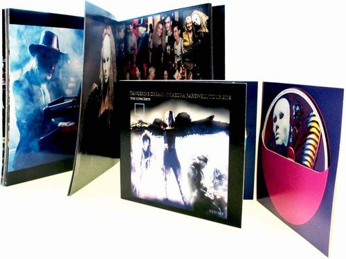 CD : Tangerine Dream - Phaedra Farewell Tour 2014-The Concerts (With Book, Germany - Import, 3 Disc)