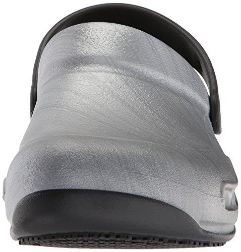 Mixte Clog Argent Bistro metallic Graphic Crocs Silver Sabots Adulte BpwPq1fxf