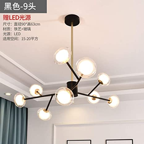 Estilo nórdico, sala de estar, moderna, moderna, lámpara ...